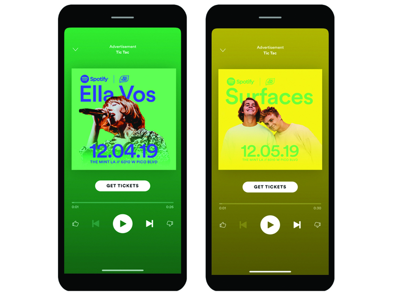 Spotify breaks into branded live events with an immersive experience for Tic Tac
