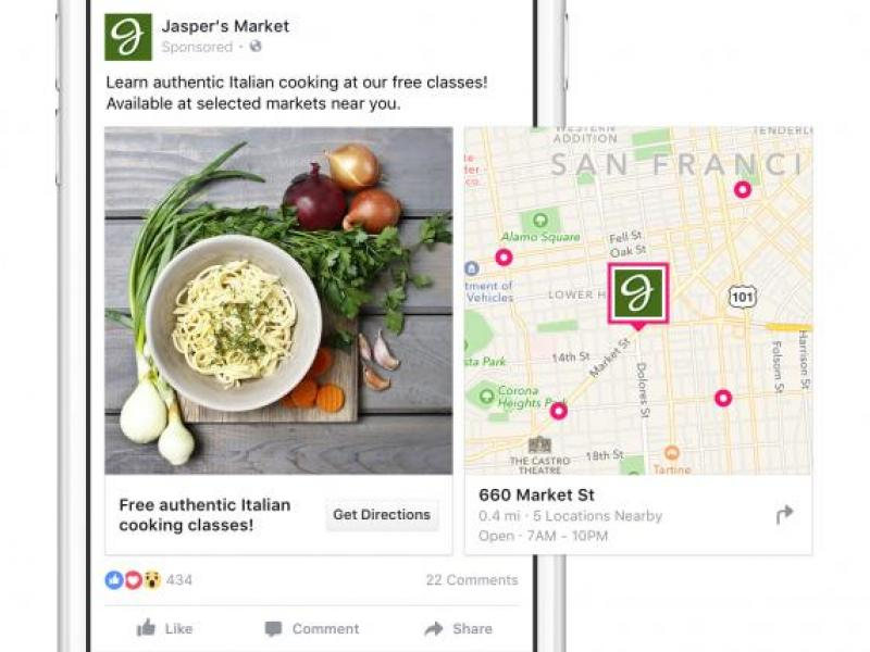 Facebook Links Actual Store Visits to Marketers' Ads and Sales