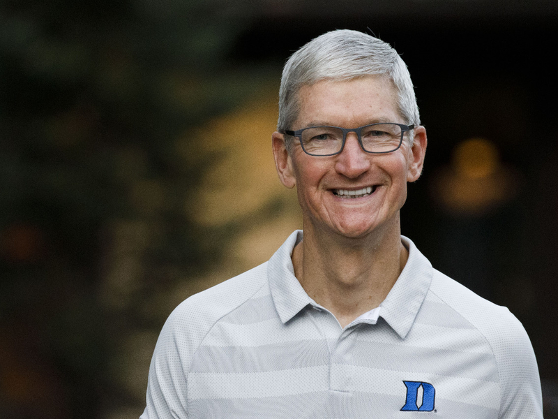 Apple CEO makes 'compelling' case to Trump and Allstate takes more marketing in-house: Monday Wake-Up Call