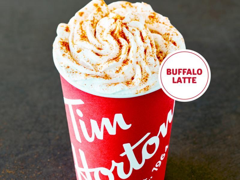 Weird Food Alert: Tim Hortons' Buffalo Sauce Latte