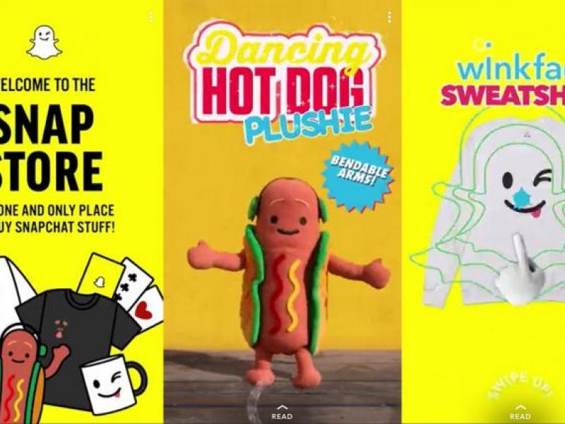 Snapchat Sells Merch in App, Flexing Its E-Commerce Chops