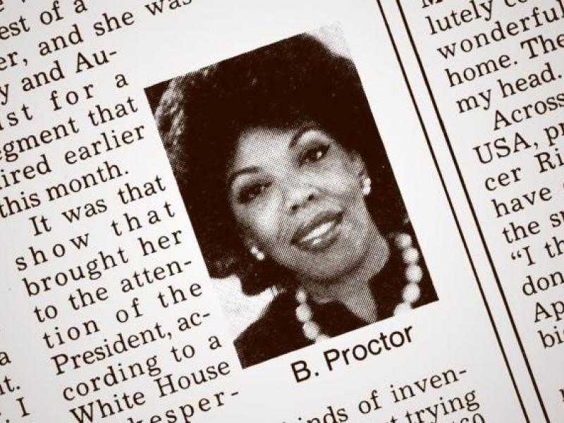 Pioneering black woman in advertising, Barbara Gardner Proctor, dies