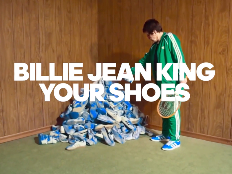 How Adidas Billie Jean King'd a whole lot of shoes