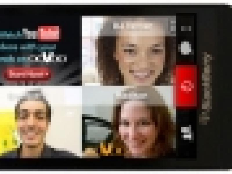 A First Look at ooVoo, BlackBerry's Default Video Messaging App | AdAge
