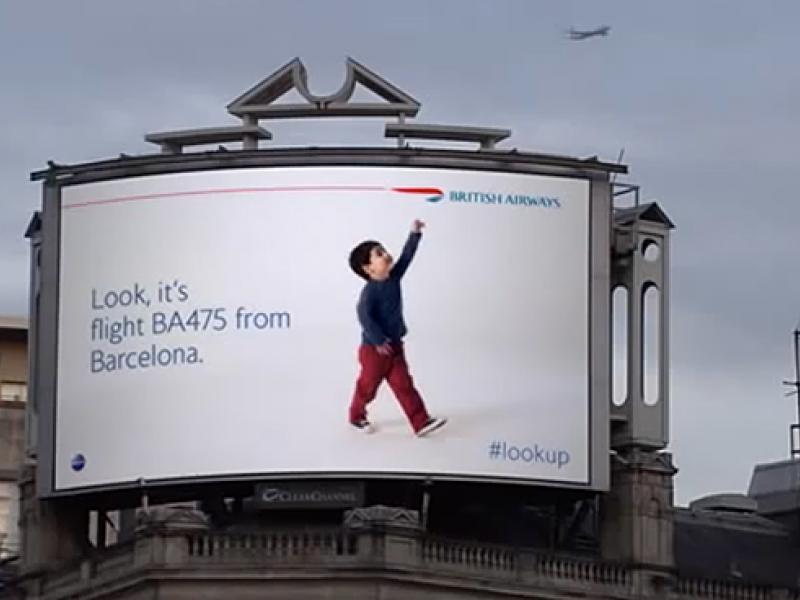 British Airways' 'Magic' Billboards Win Direct Grand Prix at Cannes