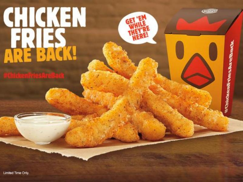 Burger King Brings Back Chicken Fries Dipping Into Crispin Era