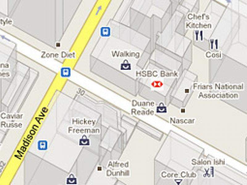 Google Maps Gets an Ad Unit: Your Logo Here   AdAge