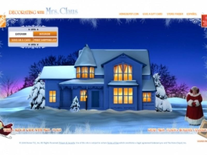 Hope Depot : Decorating with Mrs. Claus   AdAge