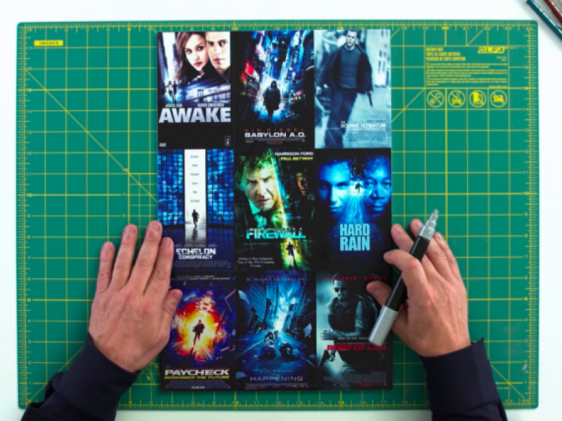 Watch: Movie poster psychology explained by a veteran designer