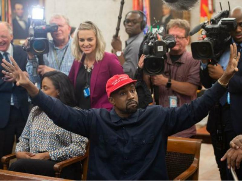 f441b06c7b5 Friday Wake-Up Call  Kanye West plugs Yeezy in the Oval Office