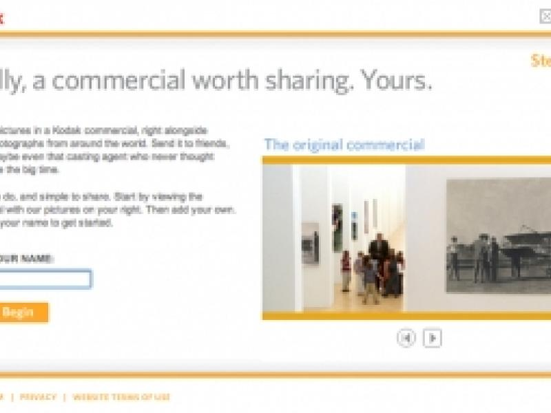 Kodak : Create Your Own   AdAge