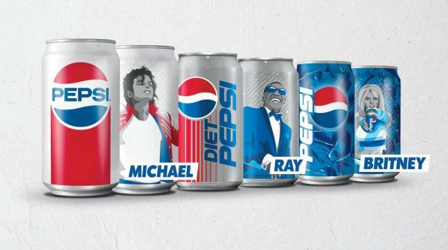 Pepsi cans attempt to reclaim pop culture glory | AdAge