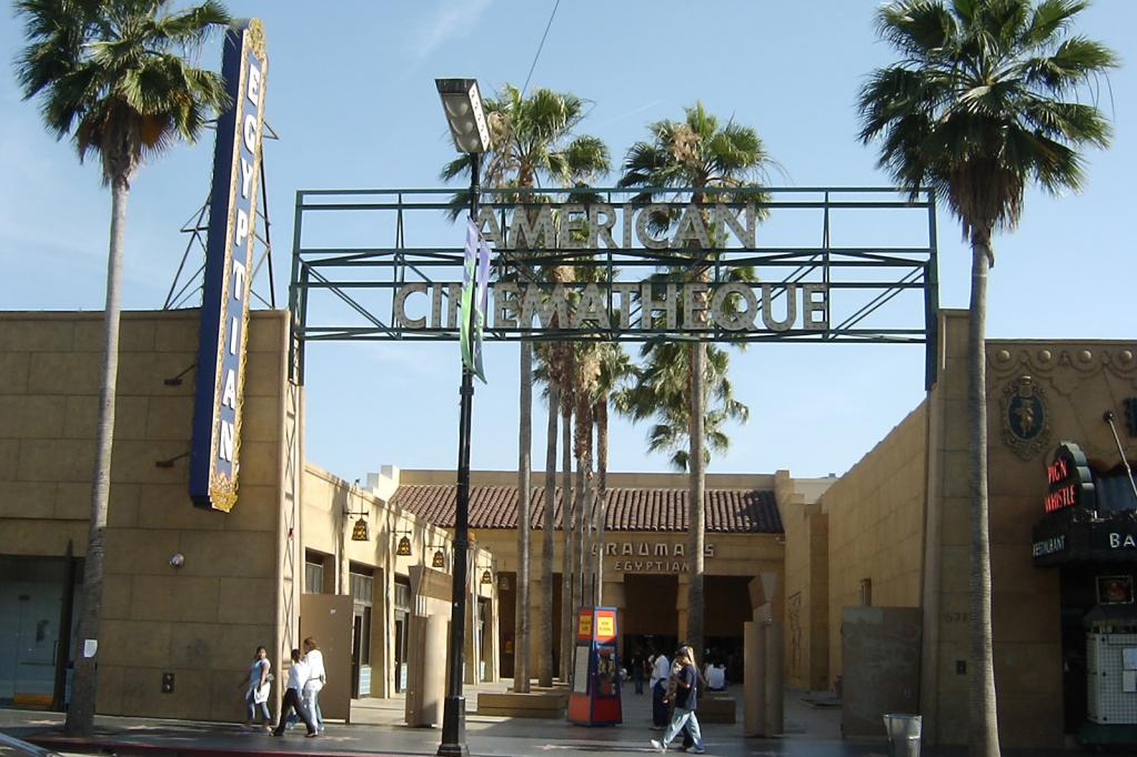 Netflix wants to buy Hollywood's historic Egyptian Theatre