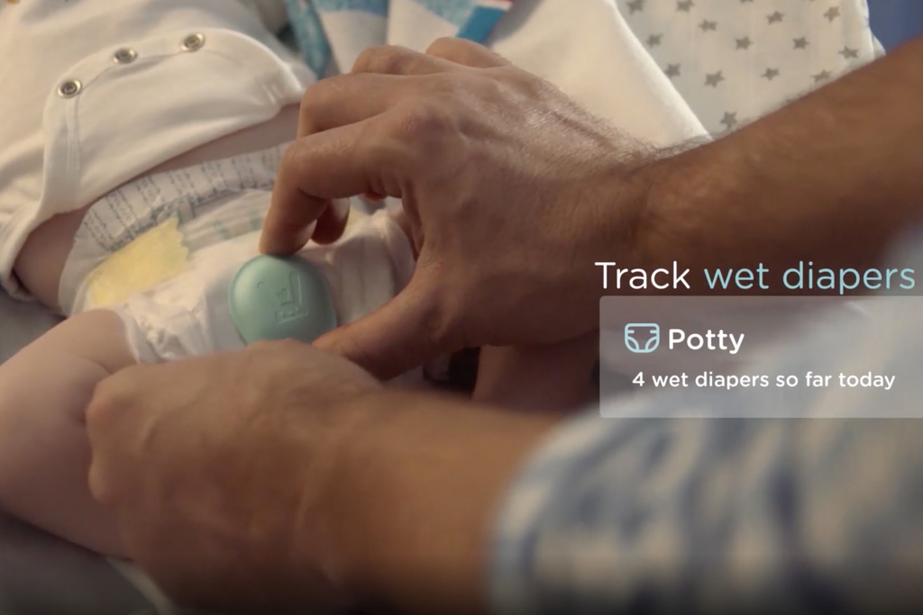 Pampers' new smart diapers give parents smartphone pee ...