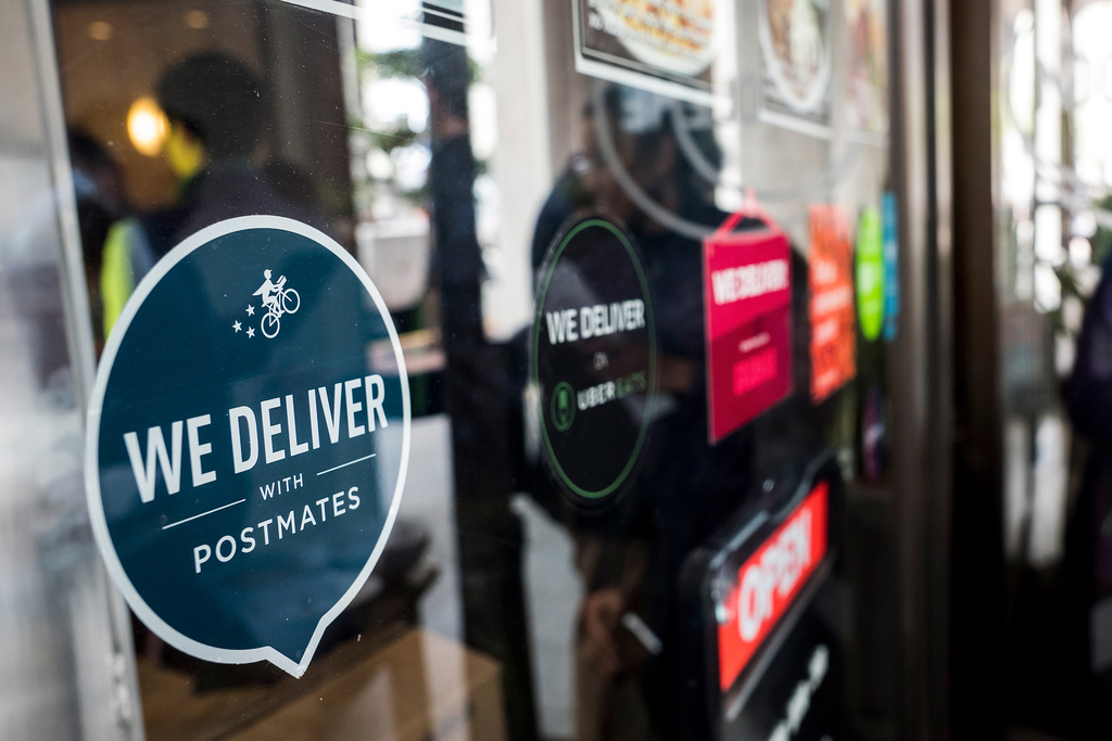 Postmates and Uber Eats use DoorDash tipping fallout as an