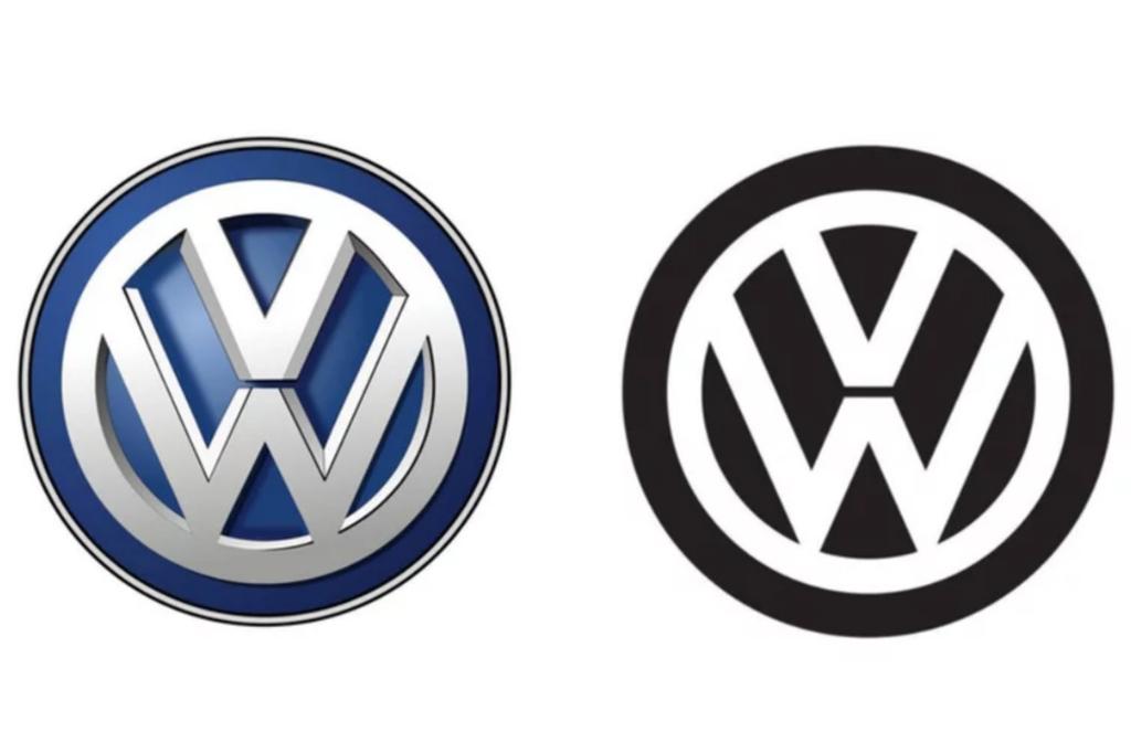 see volkswagen u0026 39 s new logo