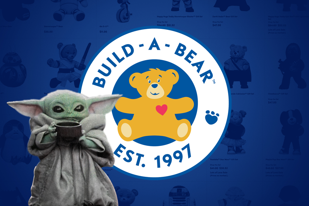 Baby Yoda Is Coming to Build-A-Bear Workshop