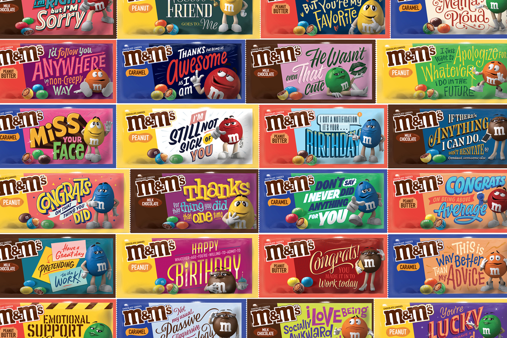 M&M Commercial Of Halloween 2020 M&M's creates in the moment commercials for the Oscars broadcast