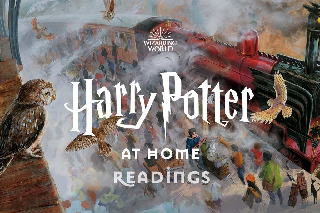 Daniel Radcliffe reads 'Harry Potter and the Philosopher's Stone' online