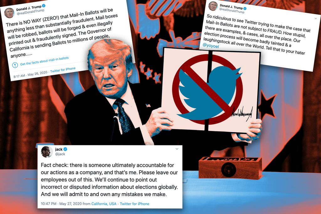After Twitter fact-check, Trump escalates war on social media protections