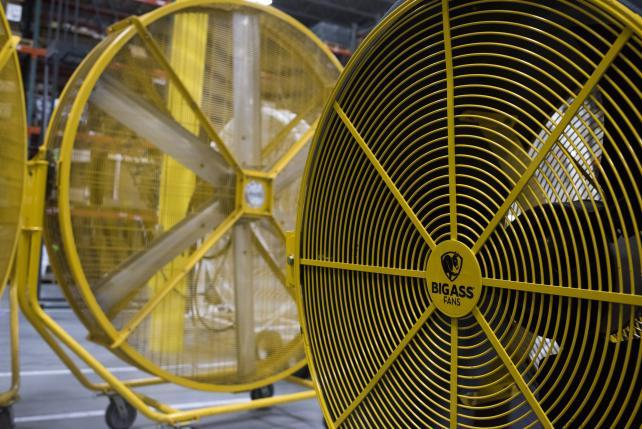 Big As Fan >> Industrial Strength Humor The Power Behind Big Ass Fans Adage