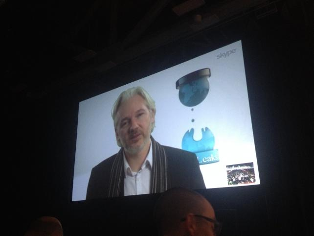 Julian Assange at SXSW: 'People Are Products Sold to Advertisers'