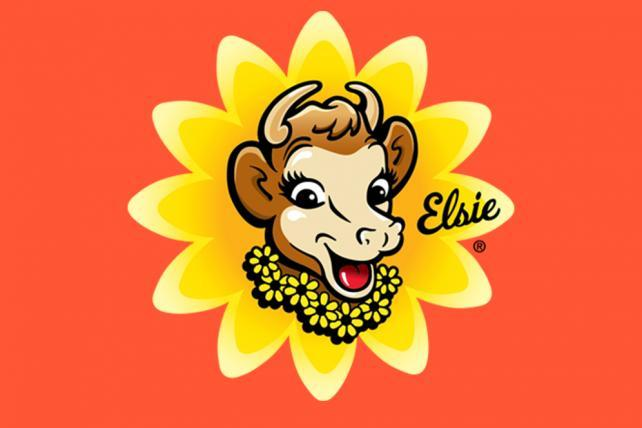 Elsie The Cow Country Farm Milk Sign