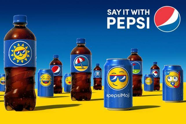 Pepsi Preps Global Emoji Can and Bottle Campaign   AdAge
