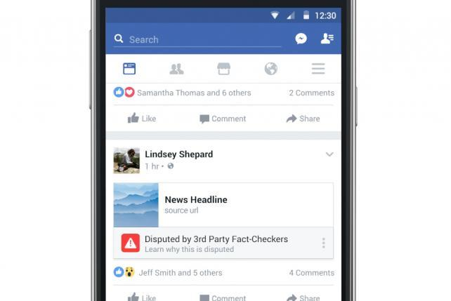 Facebook Will Fact-Check Its News Feed and Shame Fake Posts With 'Disputed' Tag