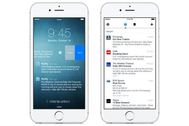 Facebook Introduces Notify, a News App Designed to Make Your Other