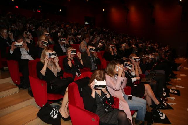 Virtual Reality Nearly Overshadows Video at the NewFronts