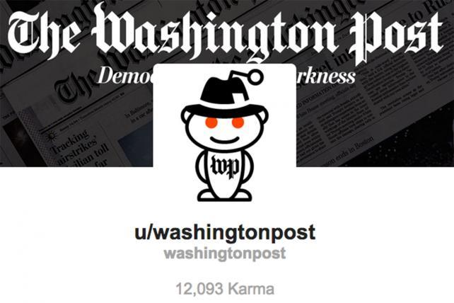 The Washington Post Gets Its Own Reddit Page | AdAge