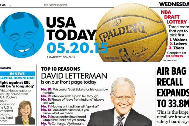 USA Today Could End Daily Print Edition in 'Five or Six Years,' Editor-in-Chief Says