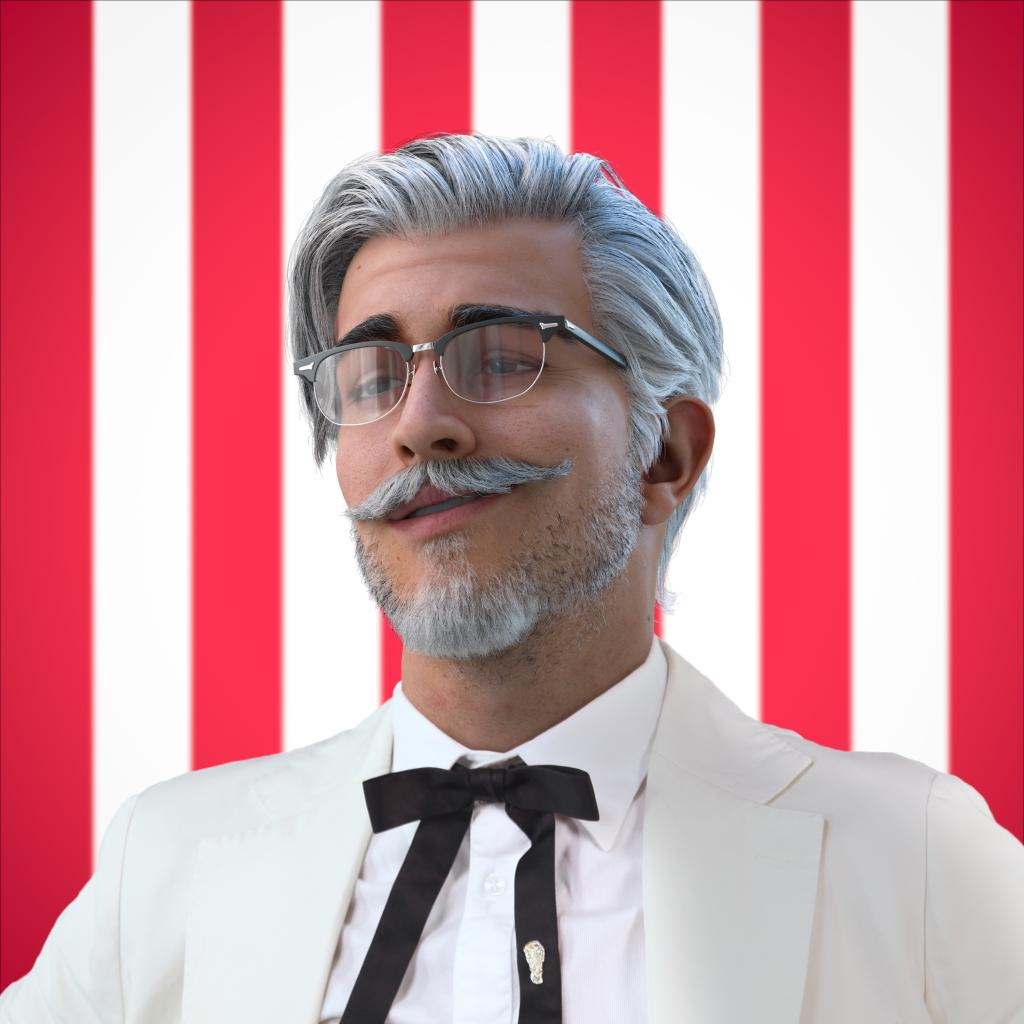 KFC pokes fun at Instagram influencers with a Colonel Sanders