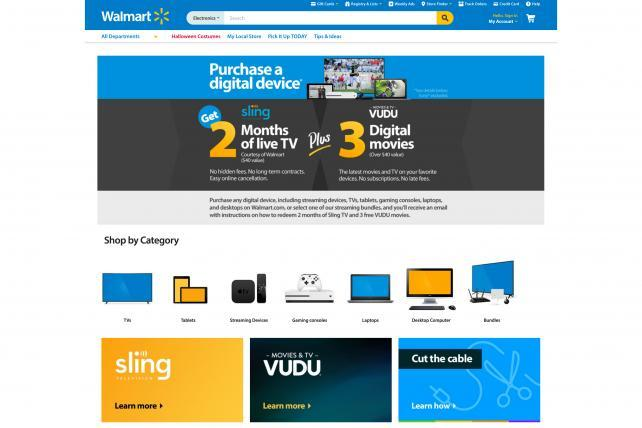 Walmart's Vudu Launches Free Ad-Supported Video on Demand