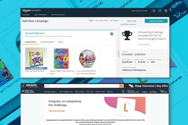 Amazon launches a rewards program for apps like TikTok | AdAge
