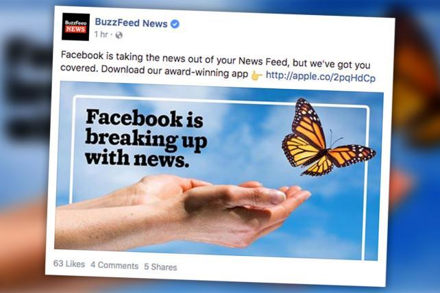 BuzzFeed Responds Perfectly to Facebook's Changes | AdAge