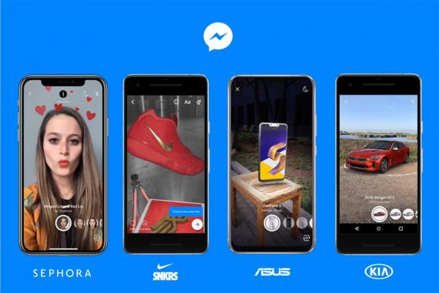 Facebook, very busy, working on a dating service and AR for Messenger