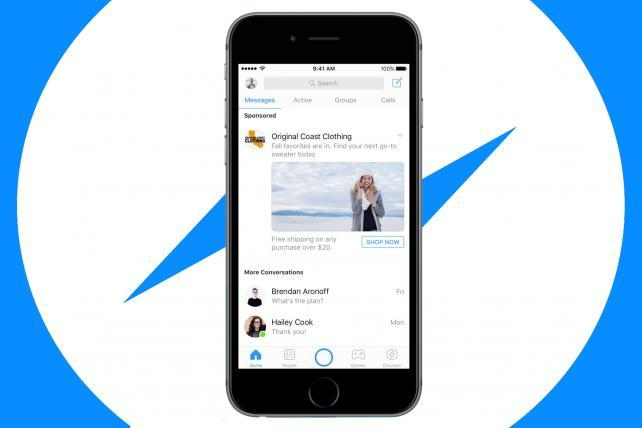 Facebook now running autoplay video ads in Messenger | AdAge