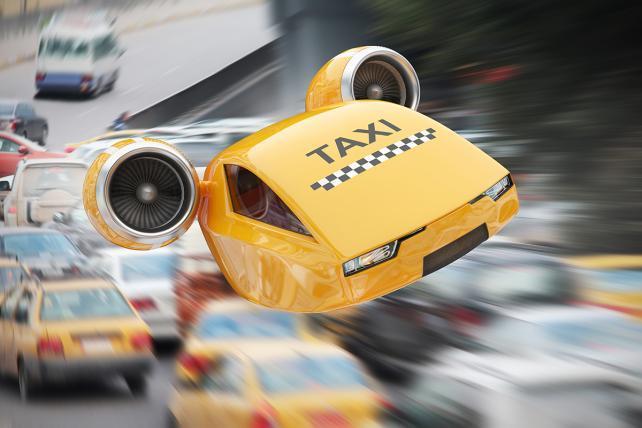 taksówka przyszłości