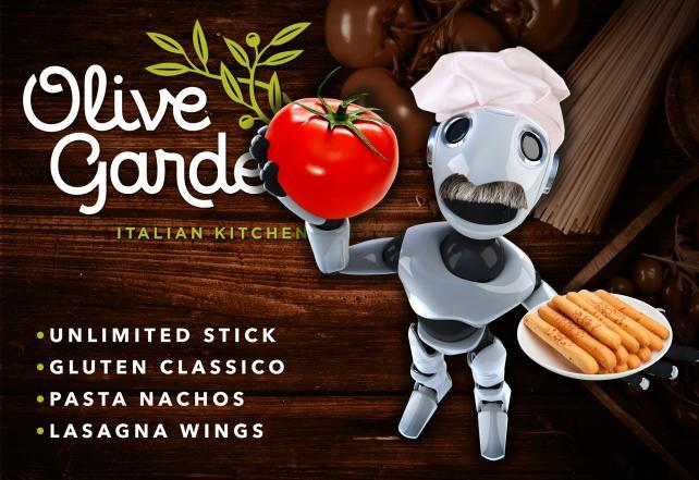 Lasagna Wings With Extra Italy If A Bot Wrote An Olive Garden