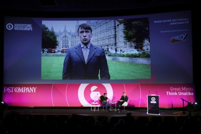 For Social Satire Check Out U K S Fake Tv Reporter Jonathan Pie