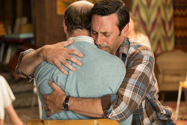 Mad Men' Series Finale Recap: Downward Facing Don   AdAge