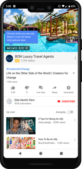 YouTube begins showing twice as many 'pre-roll' ads   AdAge