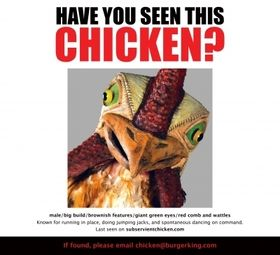 Burger King Resurrects Subservient Chicken | AdAge