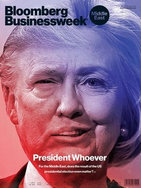 Think Creepy Clowns Are Scary? Check Out This Bloomberg Businessweek (Middle East) Cover