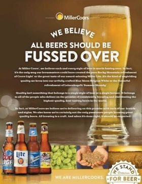 Game On: MillerCoors Joins Outcry Over Bud Super Bowl Ad