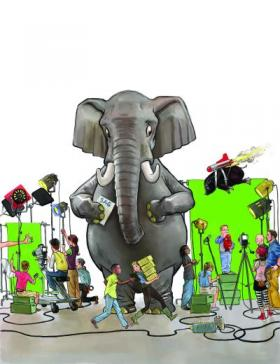Disquiet on the Set as Shops Try to Ignore Elephant in the Room: SAG Contracts