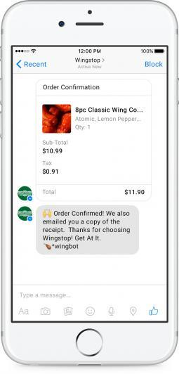 Wingstop Takes Orders From Facebook Messenger and Twitter