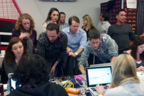 Watching the Super Bowl From Coca-Cola's War Room(s)